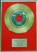 Elvis Presley - 24 Carat Gold 7 inch Disc - Hound Dog (For USA Sales) …